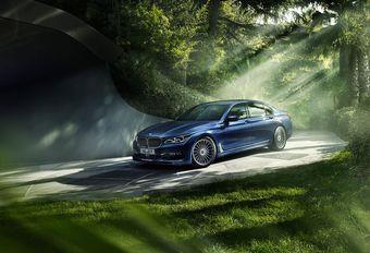 BMW Alpina B7 Biturbo : 4 roues motrices et directrices #1