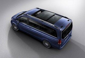 Mercedes Classe V Exclusive : camionnette de luxe #1