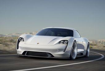 Développement de la Porsche Mission E en cours #1