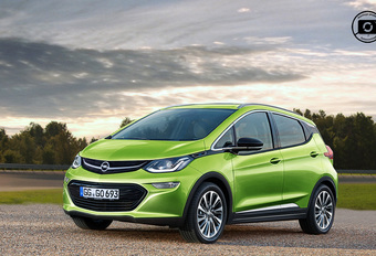 Opel Blitz, Opel's versie van de elektrische Chevrolet Bolt #1