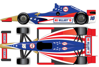 Een anti-Hillary-team in de Indy 500? #1