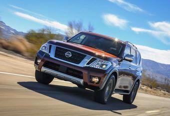 Nissan Armada : Patrol américain #1