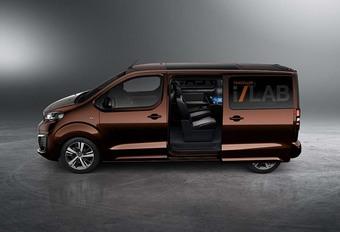 Peugeot Traveller i-Lab : l'espace passager 3.0 #1