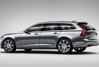 Volvo V90 : premières images en fuite #1