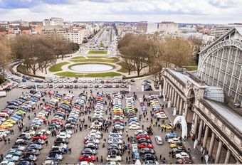 Love Bugs Parade 2016 : 250 coccinelles à Bruxelles #1