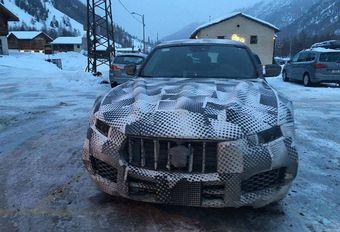 Maserati Levante surprise par un lecteur peu avant Genève #1