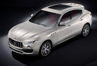 Maserati Levante : images officielles #1