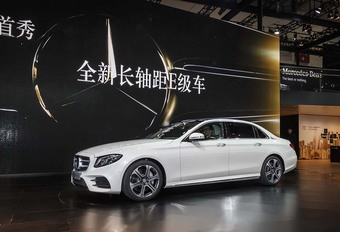 Mercedes E-Klasse Lang: enkel voor China #1