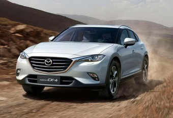 Mazda CX-4: nog (?) niet voor ons #1