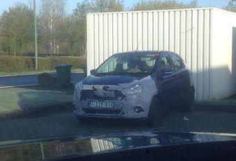 Toekomstige Ford Ka gespot op onze wegen #1