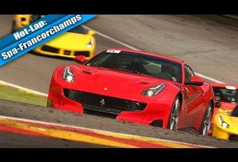 Un tour de Spa-Francorchamps en Ferrari F12 TdF #1