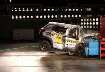 Renault Kwid échoue, comme d'autres, au Global NCAP #1