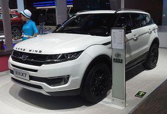 Land Rover porte plainte contre Landwind #1