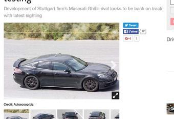 Porsche : bientôt une petite Panamera #1
