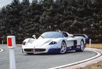 Maserati : une descendance pour la MC12 ? #1