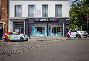 Mercedes House wordt voor 1 jaar Smart City #1
