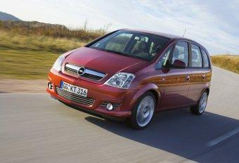 Opel Meriva facelift #1