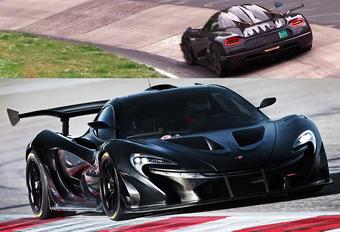 McLaren versus Koenigsegg versus Nordschleife #1