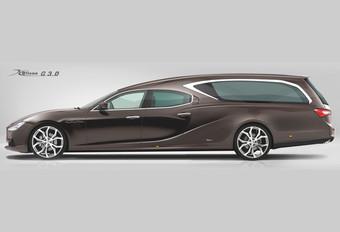 Maserati Ghibli : corbillard VIP #1