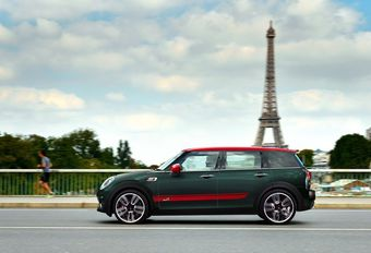 Mini John Cooper Works Clubman in Parijs #1