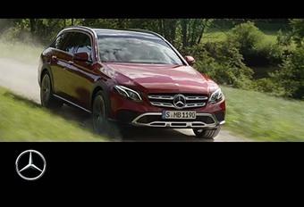Mercedes : La Classe E enfile ses bottes ! #1