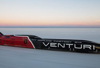 Venturi VBB-3: 576 km/h zonder brandstof #1