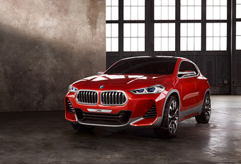 BMW X2: als prototype in Parijs #1