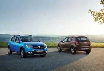 Dacia: facelift voor Logan, Logan MCV en Sandero #1