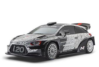 Hyundai i20 WRC 2017 en prototype à Paris #1