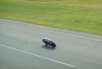 VIDEO – 186 km/u … op twee wielen #1