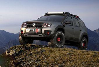 Renault Duster Extreme Concept: Braziliaans prototype #1
