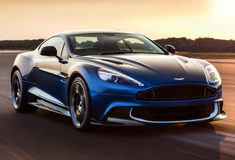 Aston Martin Vanquish krijgt de S van sneller #1