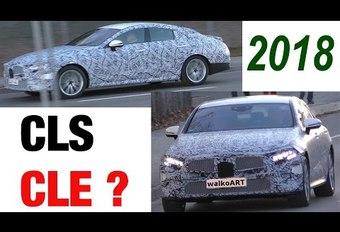 Mercedes peaufine déjà sa 3e génération de CLS  (CLE ?) #1