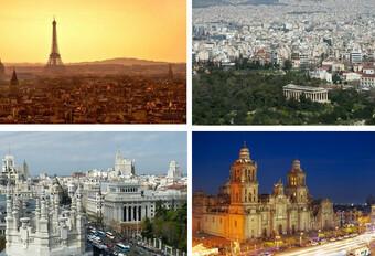 Paris, Athènes, Madrid et Mexico anti-Diesel #1