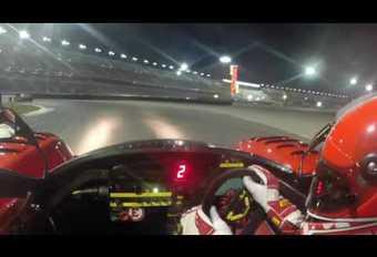 À bord d'une Ferrari 333SP à Daytona