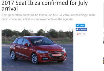 Seat : la nouvelle Ibiza disponible dès cet été !  #1