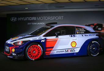 Hyundai i20 WRC 2017 au salon de Bruxelles #1