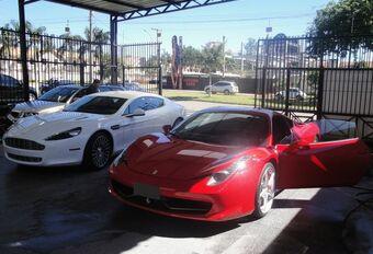 Émissions de CO2: Ferrari et Aston Martin mis à l'amende #1