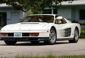 Ferrari Testarossa blanche de Miami Vice en vente #1