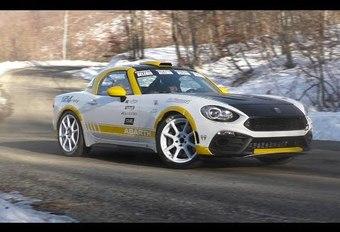 Het geluid van de 124 Abarth-rallywagen #1
