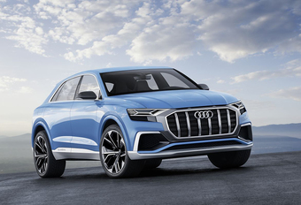Audi Q8 Concept volgt X6-trend #1