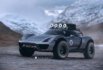 Porsche 918 gaat Safari #1