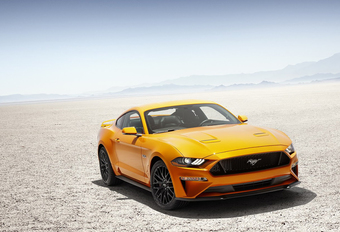 Ford Mustang krijgt scherpere looks en meer vermogen #1