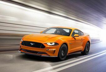 Ford Mustang: de details van de facelift #1