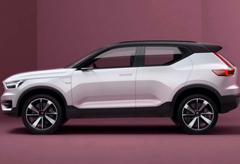 Volvo XC40 wordt onthuld in China #1