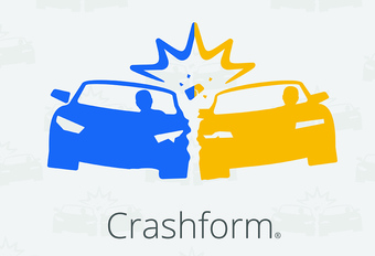 Aanrijding makkelijker aangeven met app Crashform #1