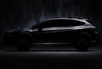 Subaru XV: tweede generatie in Genève #1