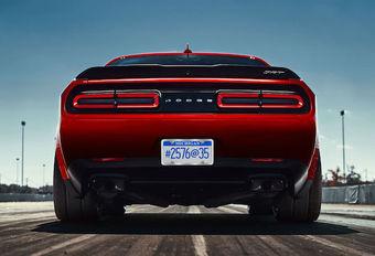 Dodge Challenger SRT Demon: duivelspoten #1