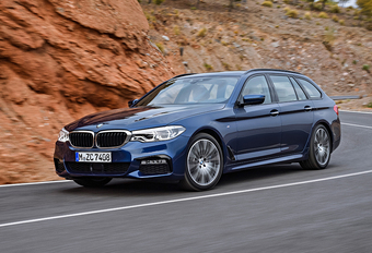 BMW 5 Reeks Touring slikt tot 1.700 liter aan bagage #1
