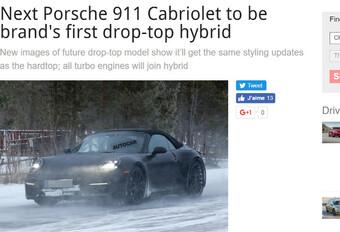 Porsche: toekomstige 911 al in actie in het Hoge Noorden #1